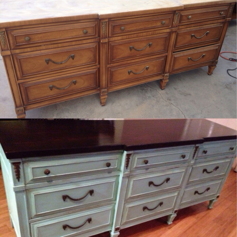 My drexel heritage dresser redo hellocarlisle for Redo furniture